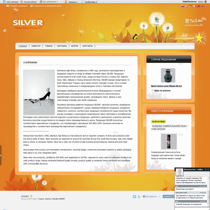 Silver - Онлайн-Консультант - n4.biz